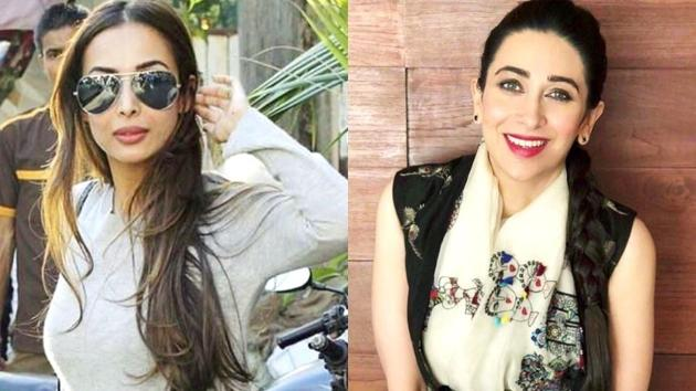 Malaika Arora and Karisma Kapoor's lunch date outfits are so chic you'll never want to take them off. Scroll to see their looks. (Instagram)