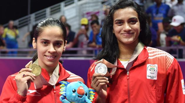 PV Sindhu and Saina Nehwal retained their positions in women's singles in the latest Badminton World Federation (BWF) rankings.(PTI)
