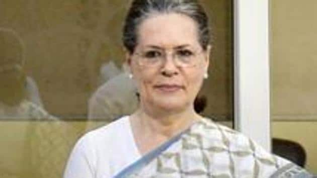 """On the no-confidence motion coming up in Lok Sabha on Friday, UPA chairperson Sonia Gandhi said, """"We have the numbers.""""(HT File Photo)"""