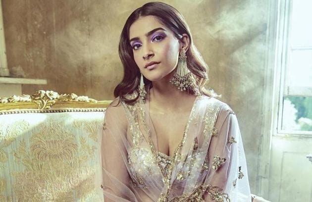 These Sonam Kapoor wedding looks deliver on high-octane glamour. Scroll through for pictures. (Instagram)
