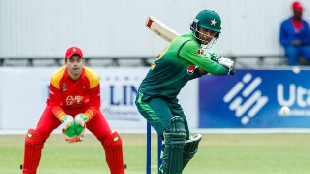 Fakhar Zaman surpassed Saeed Anwar's previous record for Pakistan of 194 and also became the first player from the country to score a double hundred in ODI cricket.(AFP)