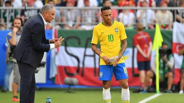 Brazil were knocked out of the FIFA World Cup 2018 by Belgium in quarter-finals.(AFP)