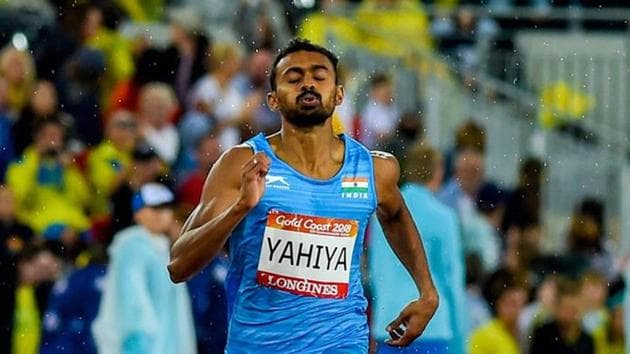 Muhammad Anas bettered his earlier time of 45.31 seconds with 45.24.(Twitter)