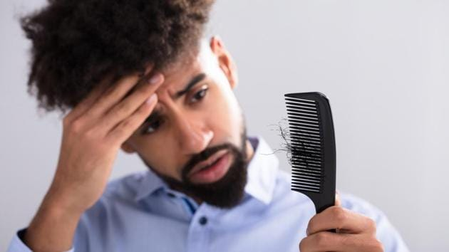 The state of your hair could point at various health issues. If you're suffering from a lot of hair-loss, it could point towards a lack of certain minerals.(Shutterstock)