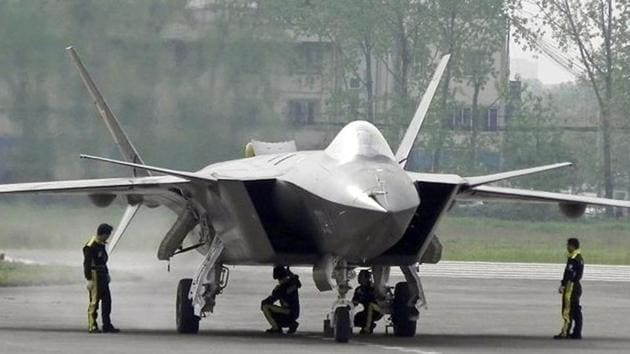 China has the second largest air force in the world after the US and operates several types of fighter aircraft including stealth fighters and long-range bombers.(AP File Photo)