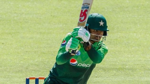 During the series Pakistan's batsman Fakhar Zaman Fakhar Zaman became the fastest player in history to reach 1,000 career runs in one-day international cricket.(AFP)