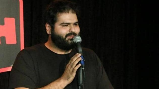 Stand-up comedian Kunal Kamra was supposed to perform in the MS University auditorium on August 11.(HT File Photo)