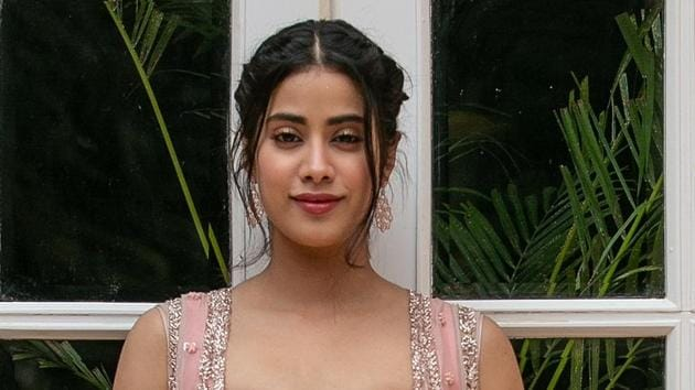 Janhvi Kapoor is happy with the box-office response that her debut film Dhadak has received.(Photo: Raajessh Kashyap/ HT)
