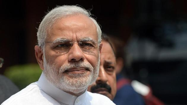 Prime Minister Narendra Modi will launch the new projects at the ceremony being held to implement 80 of the 1045 Memorandums of Understanding signed ahead of Uttar Pradesh Investors' Summit-2018.(AFP Photo)