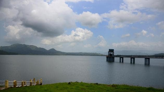 Morbe dam in Navi Mumbai(HT Photo)