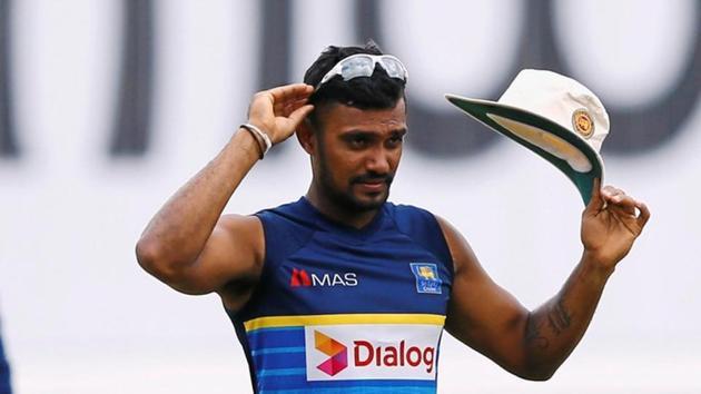 Danushka Gunathilaka has played five Tests, 33 one-day internationals and 15 Twenty20 matches for Sri Lanka.(REUTERS)