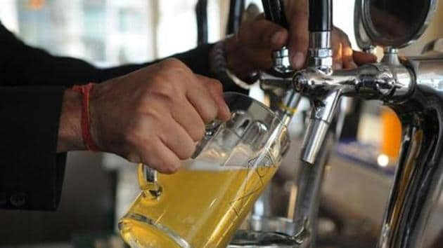 The report also said alcoholism is a rising trend among women.(HT File)