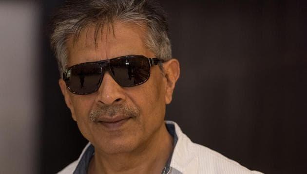 Prakash Jha at a Delhi hotel.