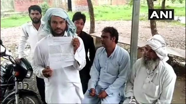 The goat owner filed a police complaint on Thursday.(ANI Photo)