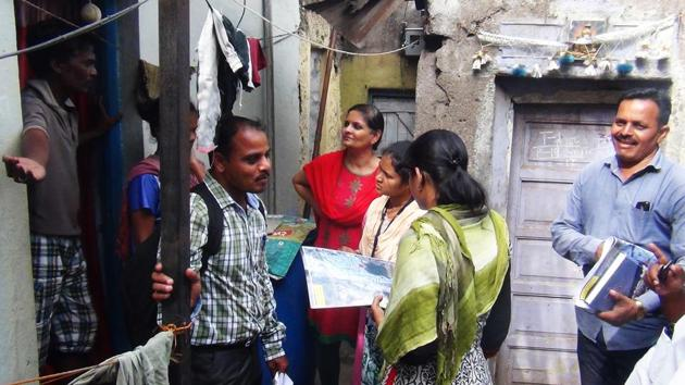 The survey, among 20,000 slumdwellers with household toilets, was conducted from 2015 onwards by Shelter Associates, a Pune non government organisation (NGO), which has partnered with a number of civic bodies, including the Pune municipal corporation (PMC) to provide low-cost household toilets.(Ht PHOTO)