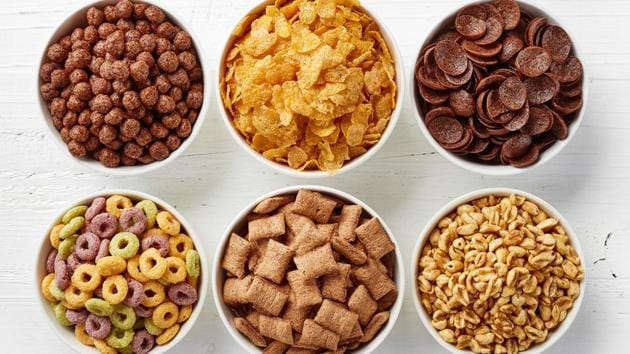 Weight loss tips: Avoid having cereals for breakfast as they are loaded with sugar.(Shutterstock)