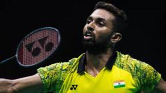 HS Prannoy defeated Abhinav Manota in the Badminton World Championship first round.(AFP)