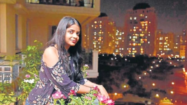Kavya Rajesh lives in a condominium in DLF Phase 5, Gurugram. She feels that the city had changed drastically over those three years, during which she lived abroad.(HT Photo)