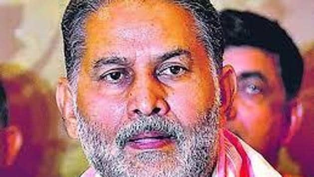 Harayana education minister Ram Bilas Sharma(HT File)