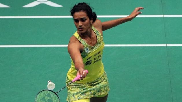 PV Sindhu, who had got a bye in the first round, opened her World Championship campaign with an easy 21-14 21-9 win over Indonesia's Fitriani.(Getty Images)