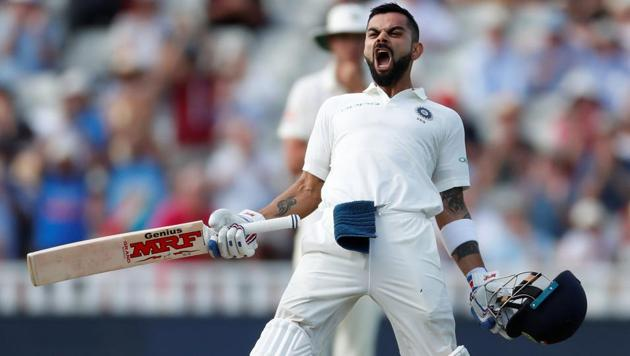 India vs England Day 2 highlights: Virat Kohli scored a century as India ended Day 2 of the first Test at Edgbaston on top of proceedings.(Action Images via Reuters)