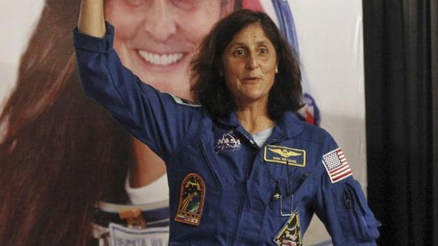 Sunita Williams (pictured) previously logged 321 days in orbit on two stays aboard the space station, most recently returning to the earth in 2012.(HT/File Photo)