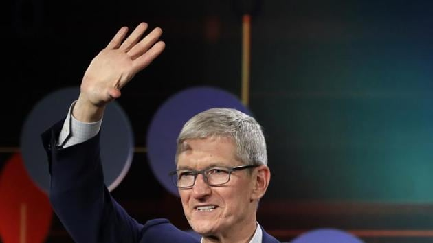 Cook had not previously publicly commented on the company's $1 trillion valuation.(AP Photo)