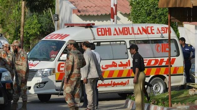 Police said the incident occurred due to over speeding. The bus was taking passengers from Buner district to Karachi.(AFP/Picture for representation)