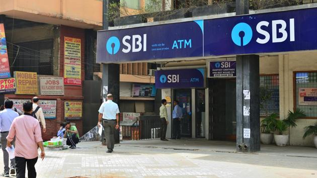 A State Bank of India ATM in New Delhi.(Mint File)