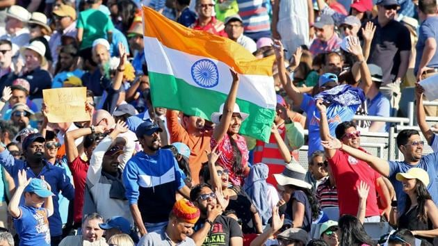 Indian supporters during a Twenty20 International cricket match in Dublin.(AFP File Photo)