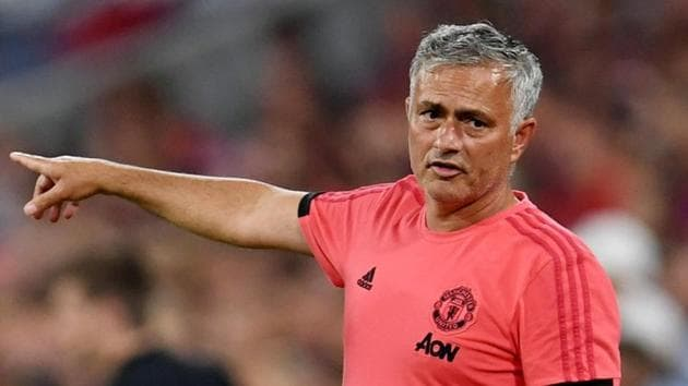 Soccer Football - Pre Season Friendly - Bayern Munich v Manchester United - Allianz Arena, Munich, Germany - August 5, 2018 Manchester United manager Jose Mourinho REUTERS/Andreas Gebert(REUTERS)