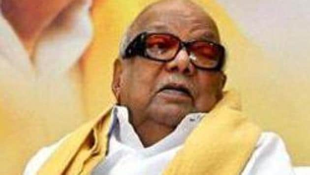 Karunanidhi had an ability to switch alliances, whether it was with Congress-led UPA or BJP led-NDA, according to the DMK's needs of the time.(PTI File Photo)
