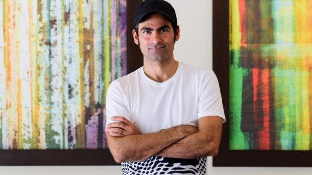 Former Indian national team cricketer Mohammad Kaif says that he has found his voice on social media.(Photo: Sarang Gupta/HT)