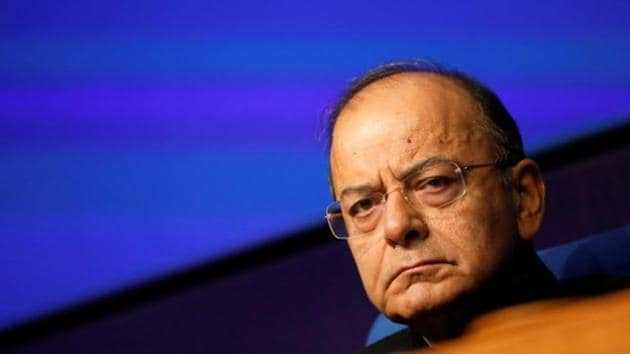 Union minister Arun Jaitley attends a news conference in New Delhi.(Reuters File Photo)