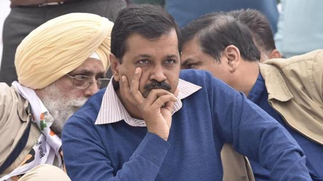 Arvind Kejriwal's Aam Aadmi Party has decided to boycott the Rajya Sabha deputy chairperson's poll as Congress did not seek support for the Opposition candidate, says AAP lawmaker.(HT file photo)