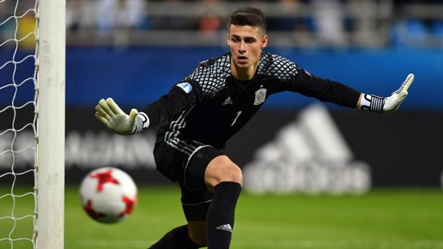 Kepa Arrizabalaga becomes the most expensive goalkeeper in the world, beating Liverpool's Alisson Becker.(AFP)