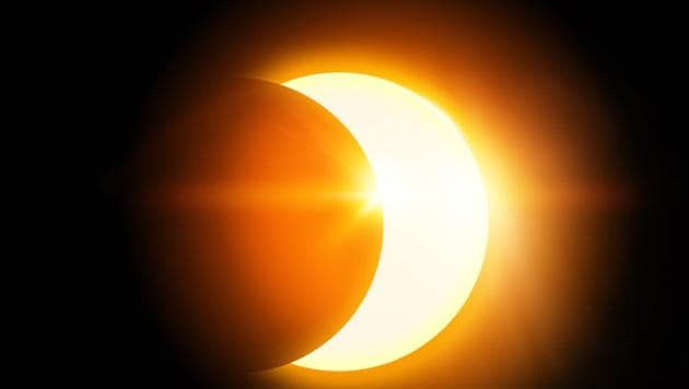 Partial solar eclipse 2018: The partial solar eclipse is visible from parts of the northern hemisphere. There are certain myths associated with solar eclipses as well.(Shutterstock)