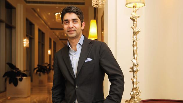 Abhinav Bindra at the launch of his book A Shot at History in Bangalore (For BoL). Photo by Aniruddha Chowdhury/Mint