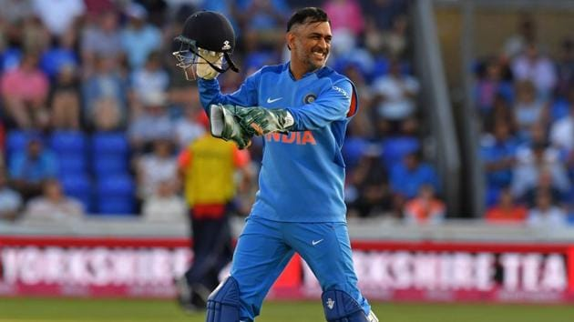 File image of India cricketer MS Dhoni.(AFP)
