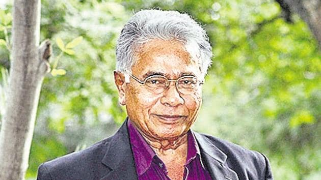 Dharmasiri Bandaranayake, director general of cultural affairs, Sri Lanka.(Ravindra Joshi)
