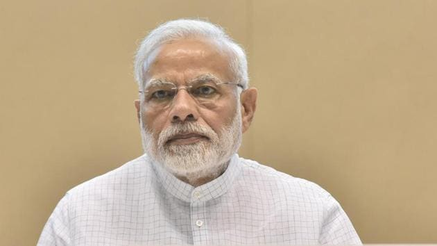 Prime Minister Narendra Modi dismisses opposition parties attempts at forming grand alliance, saying they have no agenda to offer to the country.(Sonu Mehta/HT file photo)