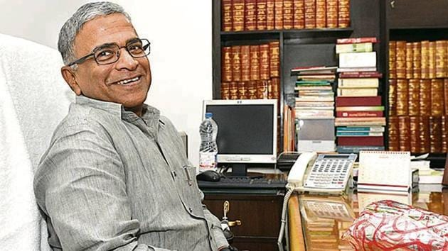 Harivansh took charge at Parliament on Thursday.(HT Photo)