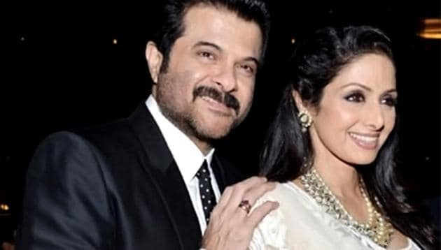 Anil Kapoor and Sridevi have worked in a number of films together.