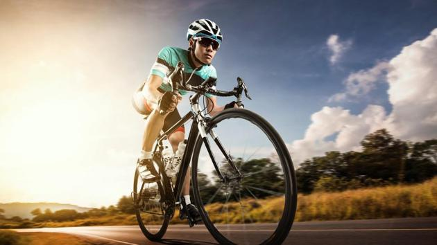 Cycling can help deal with mental health issues.(Shutterstock)