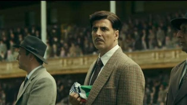 Gold movie review: Akshay Kumar convinces us as the angry Bengali man.