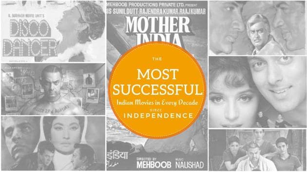 On Independence Day, here are the most successful Indian movies of every decade...
