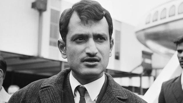 Ajit Wadekar led the Indian cricket team to overseas Test series wins over England and West Indies.(Getty Images)