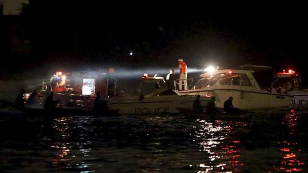Civil defence forces were searching the waters for the missing passengers but had not recovered the bodies.(Reuters/Picture for representation)