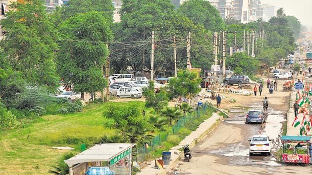 NHAI to fell 10,000 trees for widening Sohna Road, flyover