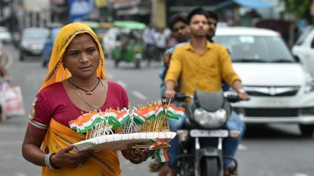 If the flags are not sold by August 15, they have to be stored until next year.(PTI photo)